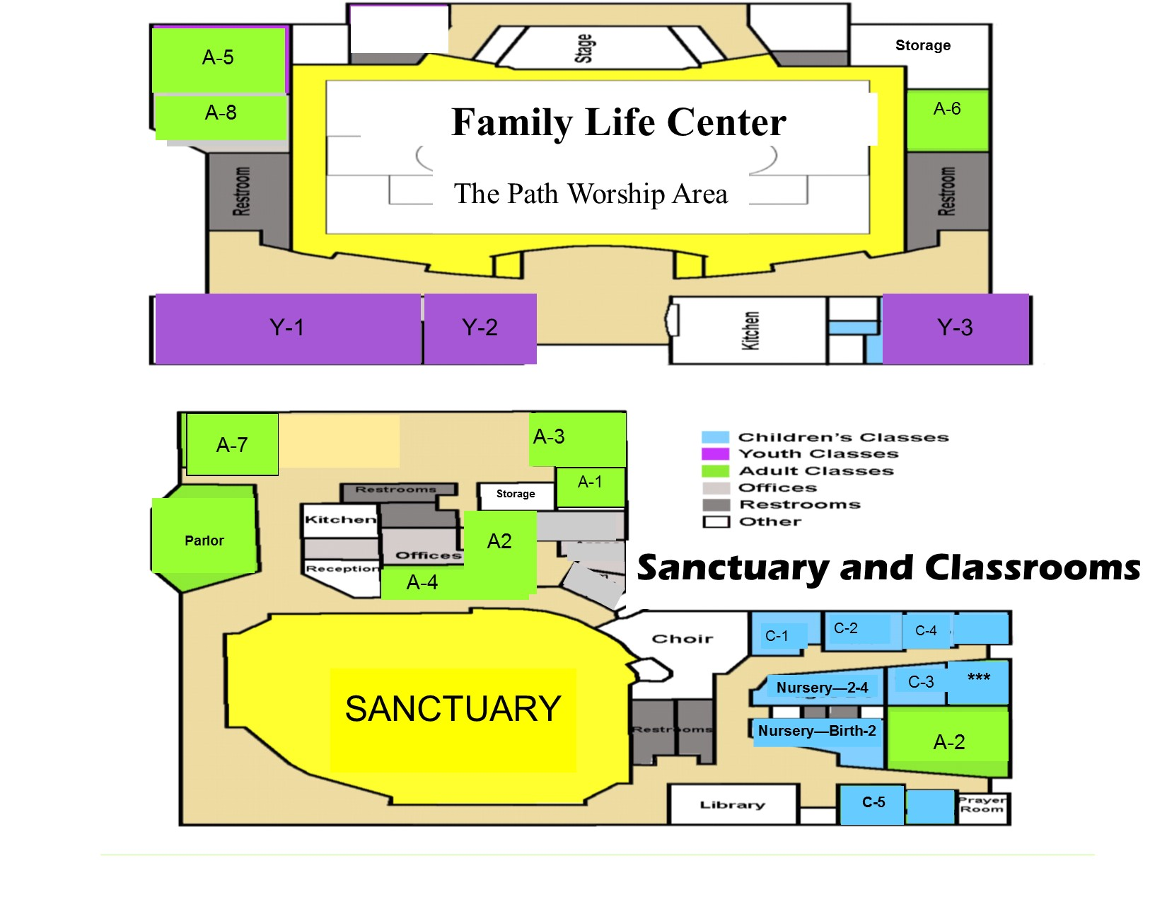 Umc Campus Map.Campus Map